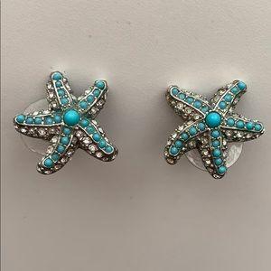 Stella and Dot starfish earrings